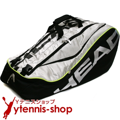 ヘッド(Head) ツアー モンスターコンビ 海外限定モデル 12本用 ブラック/シルバー テニスバッグ ラケットバッグ【あす楽】