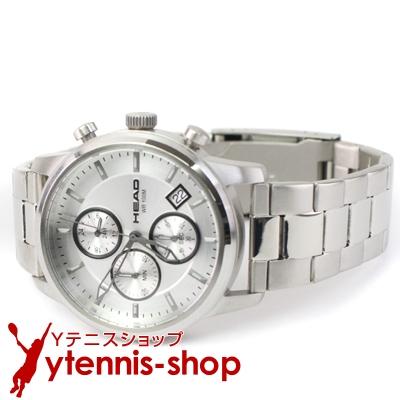 ヘッド(HEAD) マッチポイント メタル腕時計 ホワイト テニス【あす楽】