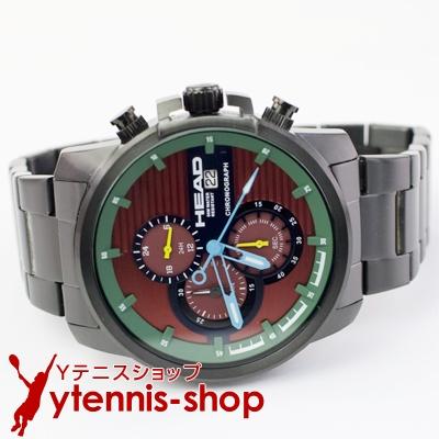 ヘッド(HEAD) トップスピン 腕時計 ブラック/レッド テニス【あす楽】