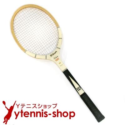 ヴィンテージラケット ウイルソン(WILSON) ジャック・クレーマー FLIGHT テニスラケット 木製 ウッドラケット【あす楽】