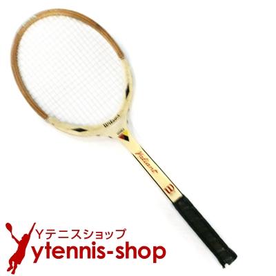 ヴィンテージラケット ウイルソン(WILSON) ジャック・クレーマー valiantテニスラケット 木製 ウッドラケット【あす楽】