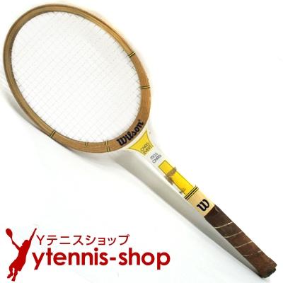 ヴィンテージラケット ウイルソン(WILSON) クリス・エバート テニスラケット 木製 ウッドラケット【あす楽】