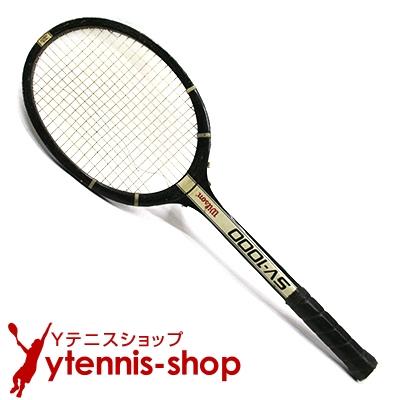 【お買い物マラソン ポイント2倍】ウイルソン(WILSON) ヴィンテージラケット SV-1000 テニスラケット 木製 ウッドラケット【あす楽】 4/20 23:59まで