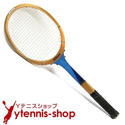 ウイルソン(WILSON) ヴィンテージラケット クリス・エバート テニスラケット 木製 ウッドラケット【あす楽】