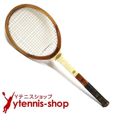 ウイルソン(WILSON) ヴィンテージラケット AMCREST オートグラフ テニスラケット 木製 ウッドラケット【あす楽】
