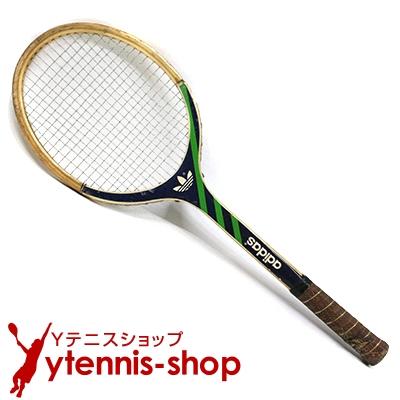アディダス(ADIDAS) ヴィンテージラケット ADS 030 テニスラケット 木製 ウッドラケット【あす楽】
