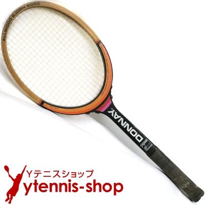 ドネー(DONNAY) ヴィンテージラケット オールウッド ビョルン・ボルグ(BJORN BORG) テニスラケット 木製 ウッドラケット【あす楽】