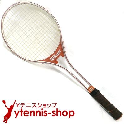 【在庫有】 ウイルソン(WILSON) ヴィンテージラケット ジミー・コナーズ ラリー テニスラケット スチールラケット テニスラケット【あす楽 ラリー】, 苫前郡:a3b542f2 --- canoncity.azurewebsites.net
