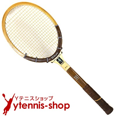 ヴィンテージラケット ウイルソン(WILSON) クリス・エバート オートグラフ Chris Evert 木製 テニスラケット【あす楽】