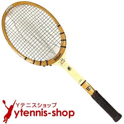 ヴィンテージラケット ウイルソン(WILSON) スタン・スミス シグネチャー Stan Smith signature 木製 テニスラケット【あす楽】