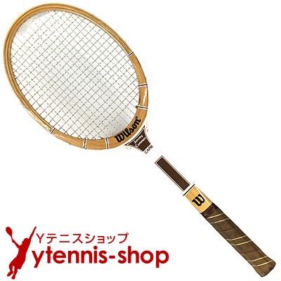 ヴィンテージラケット ウイルソン(WILSON) ジミー・コナーズ カプリ Jimmy Connors Capli 木製 テニスラケット【あす楽】
