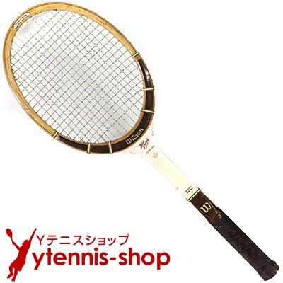 ヴィンテージラケット ウイルソン(WILSON) バッチ・ブッフホルツ シグネチャー Butch Buchholz signature 木製 テニスラケット【あす楽】