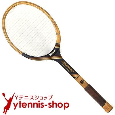 ヴィンテージラケット ウイルソン(WILSON) ジミー・コナーズ チャンピオン Jimmy Connors Champion 木製 テニスラケット【あす楽】