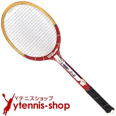 ヴィンテージラケット ウイルソン(WILSON) ジミー・コナーズ アメリカンスター Jimmy Connors AMERICAN STAR 木製 テニスラケット【あす楽】