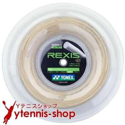ヨネックス YONEX ロールガット 70%OFFアウトレット テニス レクシス REXIS あす楽 オフホワイト 超激安 1.25mm 200mロール ナイロンストリングス 1.30mm