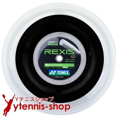 ヨネックス(YONEX) レクシス(REXIS) ブラック 1.30mm/1.25mm 200mロール ナイロンストリングス【あす楽】