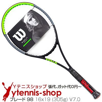 ウイルソン(Wilson) 2019年 ブレード 98 16x19 (305g) V7.0 (Blade 98 18x20 V7.0) WR013611 テニスラケット【あす楽】