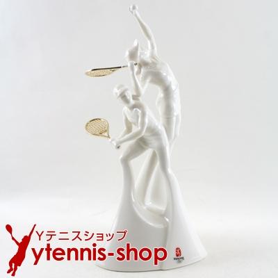 北京オリンピック テニス (Beijing Olympic)世界限定 陶器製 モニュメント【あす楽】