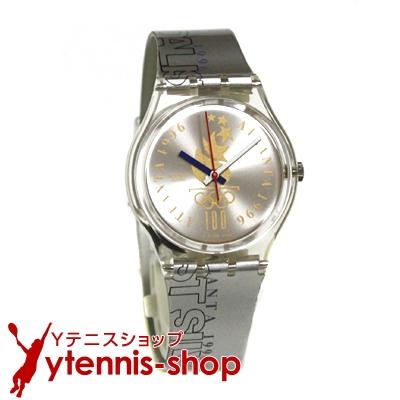 スウォッチ腕時計1996年アトランタ・オリンピック・テニス(男子シングルス)フィールドホッケー銀メダリスト用モデル【あす楽】
