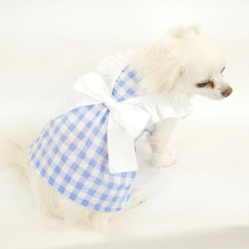 犬服工房 供え 型紙 フェミニンフリルワンピ型紙 小型犬向け 当店は最高な サービスを提供します eco印刷