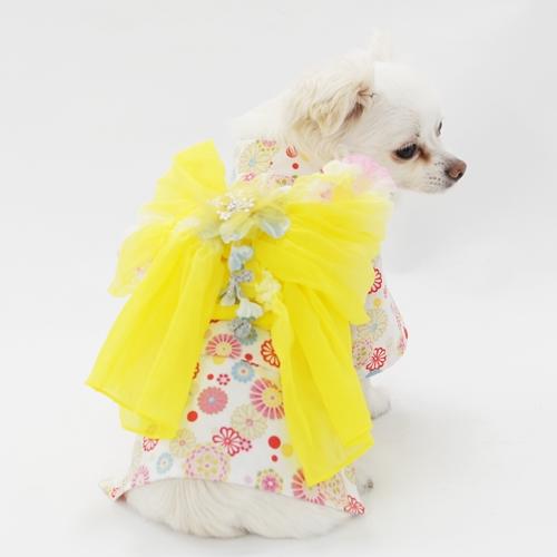 犬服工房 型紙 40%OFFの激安セール 浴衣型紙 人気ブランド ばらばら印刷 胴長超小型犬XS~SS+