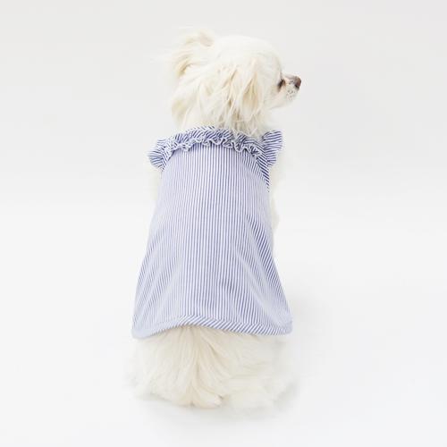 ショルダーフリルキャミソール型紙 ばらばら印刷 胴長小型犬S~M