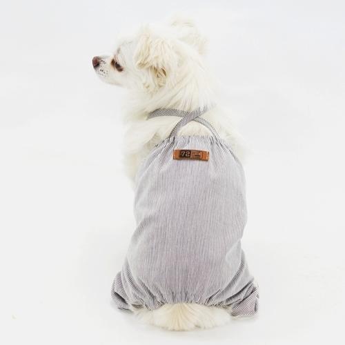 カボチャパンツキャミロンパース型紙 ばらばら印刷 胴長大きな中型犬M~L