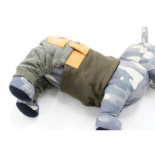 パンツマナーベルト型紙 ばらばら印刷 胴長大きな中型犬M~L