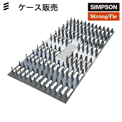 SIMPSON MP36メンディングプレート ケース売[100個入](連結・補強用) DIY/SIMPSON/ガレージ/小屋/ウッドデッキ/2x 4/ツーバイフォー/金具