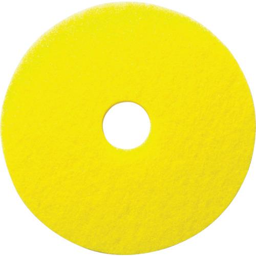 TR ケルヒャー イエローディスクパッド 表面磨き用 432mm 5枚入り[1個]