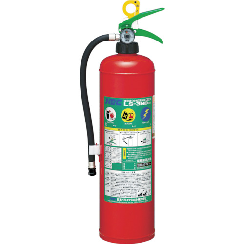 TR ドライケミカル 中性強化液消火器3型 蓄圧式[1本]