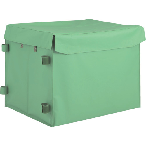 TR TRUSCO ハンドトラックボックス蓋つき650×470[1個]