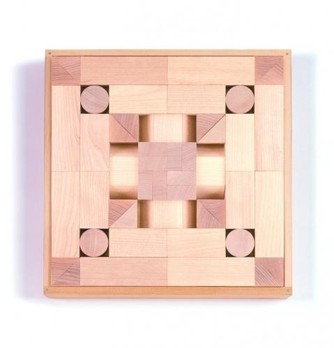 WAKU-BLOCK45HG6 (童具館)  Japan 知育玩具 積木 積み木 木のおもちゃ 2歳 3歳 4歳 5歳