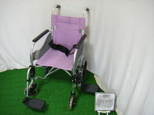 【中古車椅子】松永製作所 介助式車椅子 SA-200 (WC-4112)