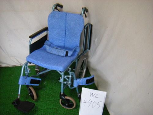 【中古車椅子】松永製作所 介助式車椅子 REM-4 (WC-4905)
