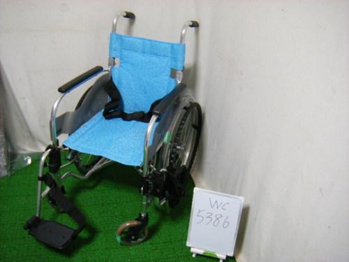 【中古車椅子】松永製作所 自走式車椅子 SA-100介助ブレーキ無し(WC-5386)