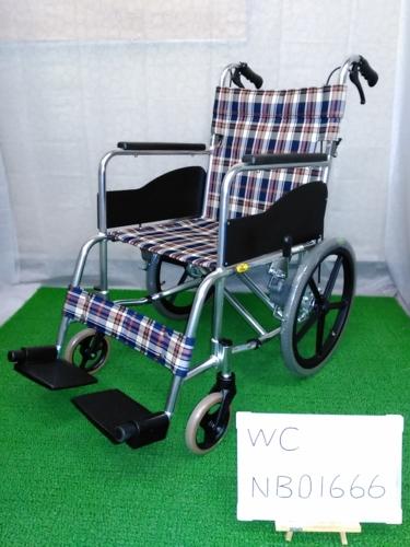 【中古車椅子】《Sランク》松永製作所 介助式車椅子 AR-300 (WC-NB01666)