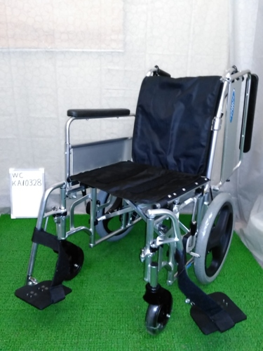 【中古車椅子】《Sランク》日進医療器 介助式車椅子 EX-M3 (WC-KA10328)