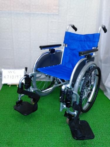 【中古車椅子】《Bランク》松永製作所 自走式車椅子 TT-01 (WC-K710197)