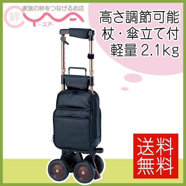 シルバーカー 象印ベビー 象印 キャリーステッキ・ライト168 ショッピングカート 介護用品 送料無料