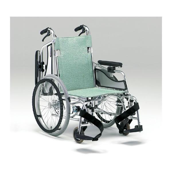 車椅子 軽量 折り畳み 松永製作所 MW-SL5B 車いす 車イス 介護用品 送料無料