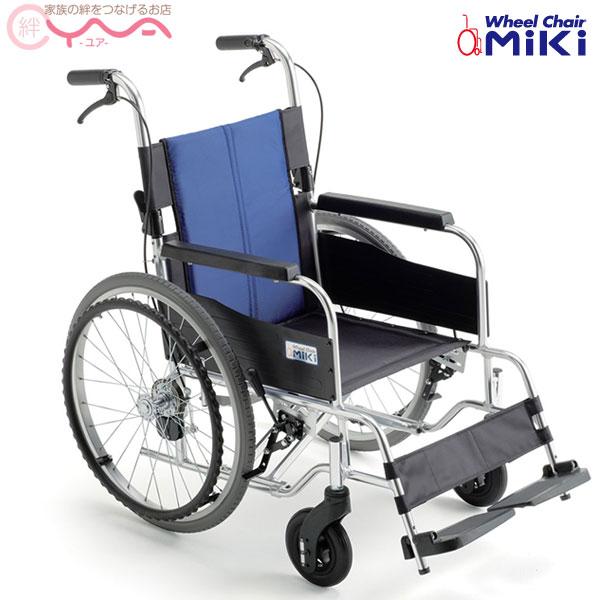 車椅子 軽量 折り畳み MiKi ミキ BAL-1S 車いす 車イス 介護用品 送料無料