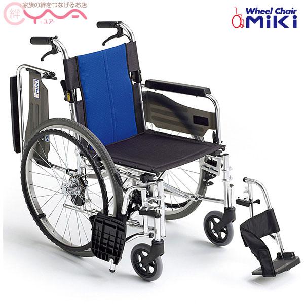 送料無料 車椅子 車いす 期間限定の激安セール 期間限定で特別価格 車イス 軽量 折り畳み BAL-3 MiKi 介護用品 ミキ