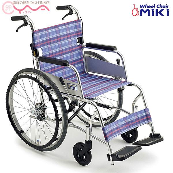 車椅子 軽量 折り畳み MiKi ミキ ニューライト M-43SK SP 車いす 車イス 介護用品 送料無料