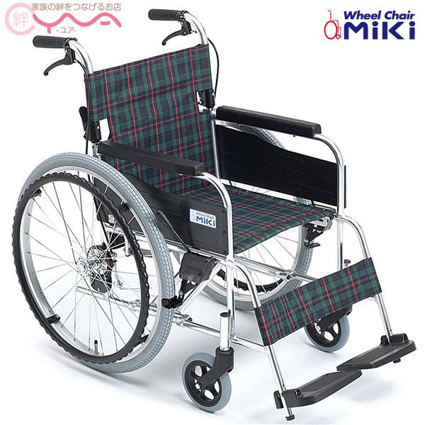 車椅子 軽量 折り畳み MiKi ミキ M-1 MPN-40JD 車いす 車イス 介護用品 送料無料