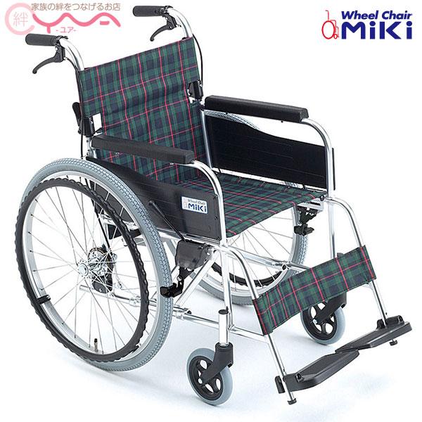 車椅子 軽量 折り畳み MiKi ミキ M-1 MPN-43JD 車いす 車イス 介護用品 送料無料