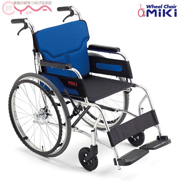 車椅子 軽量 折り畳み MiKi ミキ カルーンシリーズ M-43(40)RK 車いす 車イス 介護用品 おしゃれ 送料無料