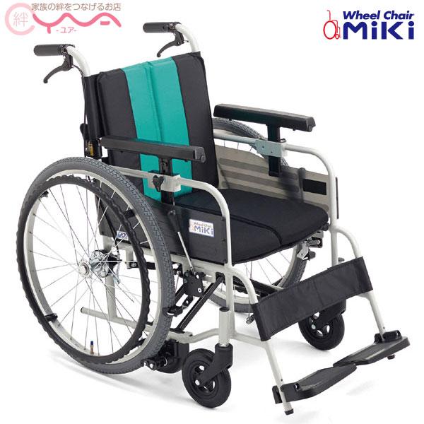 車椅子 折り畳み 【MiKi/ミキ】とまっティシリーズ MBY-41B [低床][自走介助兼用車椅子] [自動ブレーキ搭載] [自走式車椅子]
