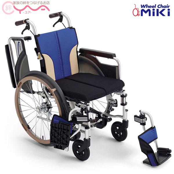 車椅子 折り畳み 【MiKi/ミキ】 Skit(スキット) SKT-400B 自動ブレーキ 車いす 車イス くるまいす コンパクト 介護用品 送料無料