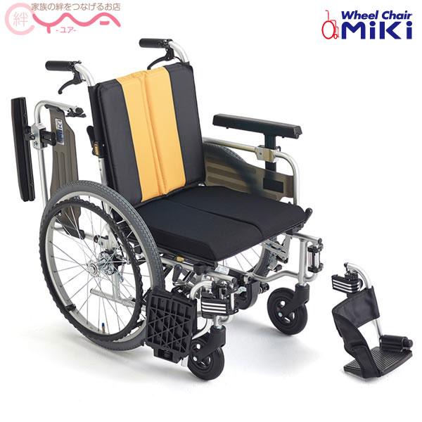 車椅子 車いす 車イス MiKi ミキ とまっティシリーズ MBY-41RB 低床 介護用品 送料無料
